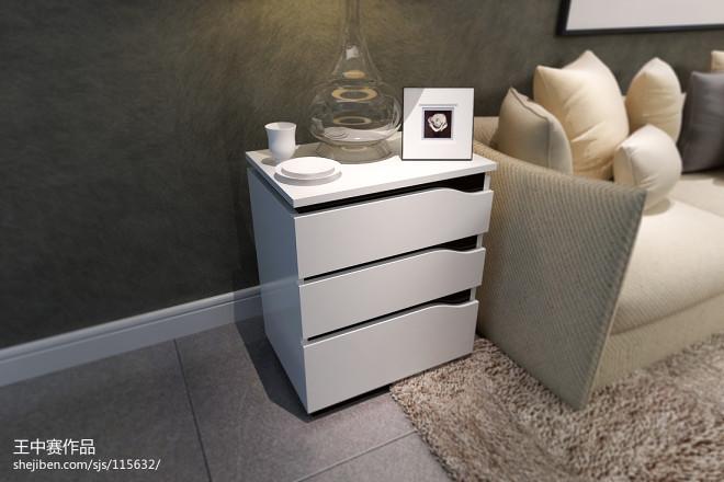 淘宝家具3D效果图-电视柜、茶几、斗