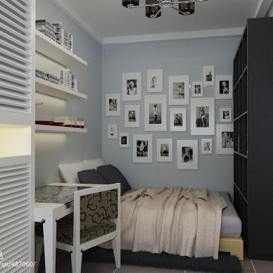 小户型卧室家装背景墙设计