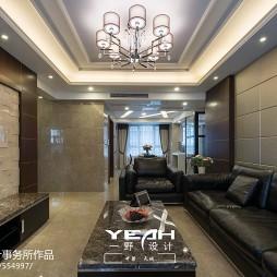 时尚大气现代风格客厅吊顶设计