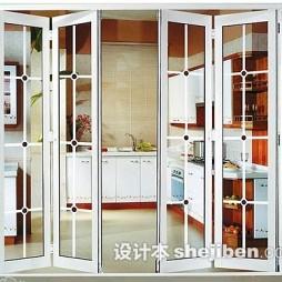 厨房折叠门装修图片