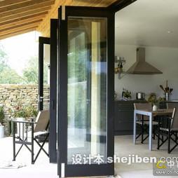 廚房折疊門裝修圖片