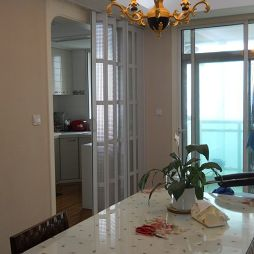 厨房折叠门设计图片