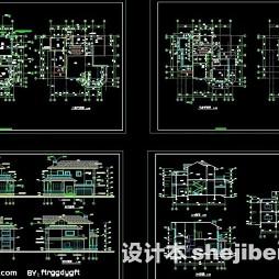 豪华别墅设计图纸