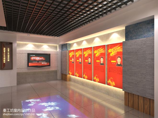文化长廊设计图片