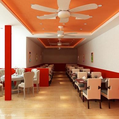 餐馆设计效果图库