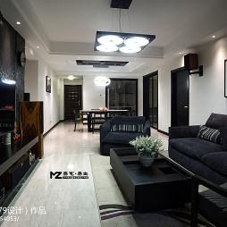 现代四室两厅客厅装修图片