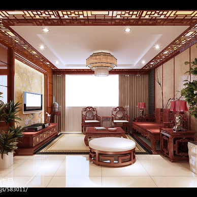 中式风格住宅_1275372