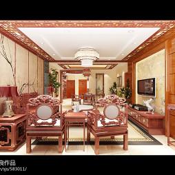 中式风格住宅_1275373