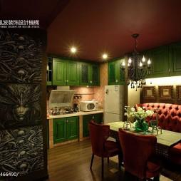 混搭厨房吊顶装修设计