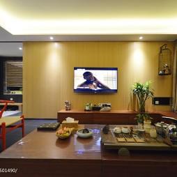 最新现代客厅电视柜装修效果图