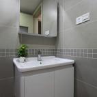 现代简约卫生间装修图片