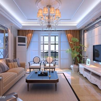 欧式三居家装室内设计家居装修设计