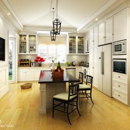 别墅家庭橱柜装修图片