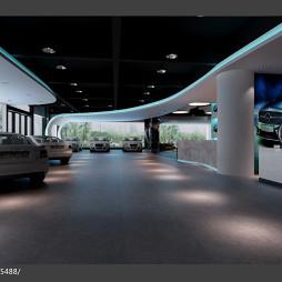 汽车展示厅现代风格吊顶设计图片大全