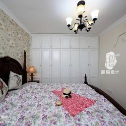 美式乡村风格卧室衣柜装修图片