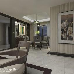 混搭风格餐厅装饰挂画背景墙欣赏