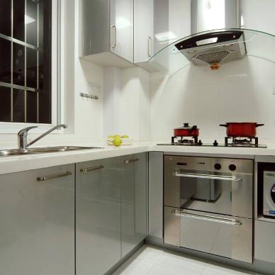 现代简约两室两厅斯米克瓷砖设计效果图