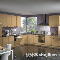 厨房磨光地板砖效果图欣赏
