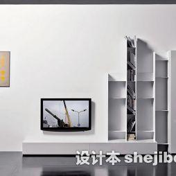 简约家装电视背景墙图片