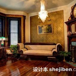 哥特式客厅装修图片大全