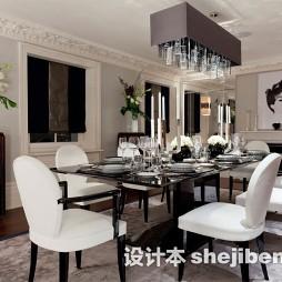 现代餐厅长形地毯图片