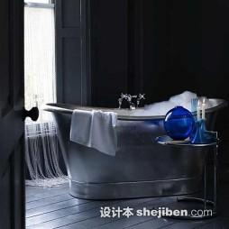 哥特式卫生间浴缸设计效果图