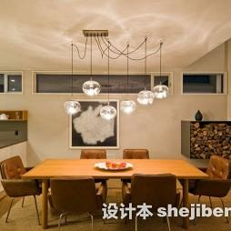 餐厅餐桌实木家具图片
