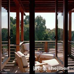 阳台实木家具图片大全