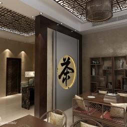 中式简易茶室_1333312