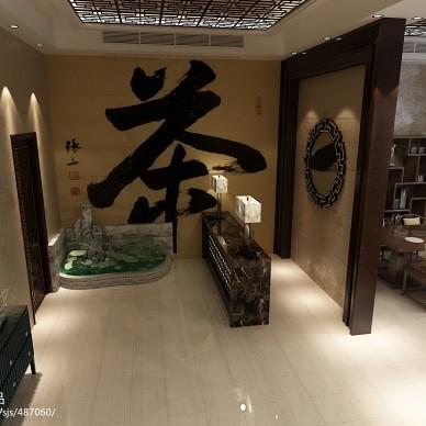 中式简易茶室_1333313