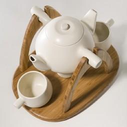 双头茶壶茶具装修效果图