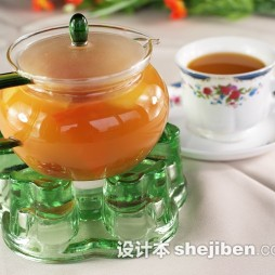 红枣茶茶具装修效果图欣赏