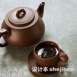紫砂茶具装修效果图