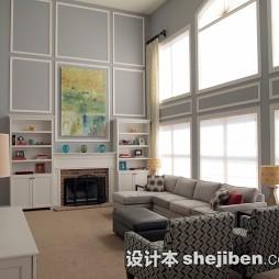 别墅客厅地毯图片