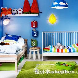 两房改三房儿童房装修设计图片