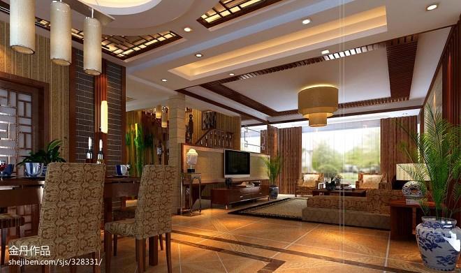 新古典风格顶级别墅设计效果图