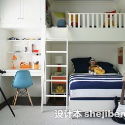 儿童房高低床效果图