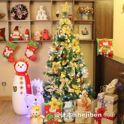 圣诞装饰效果图片
