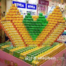 超市商品陈列黑人牙膏图片