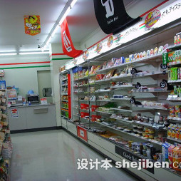 日本便利店货架摆放图片