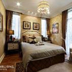 别墅欧式卧室窗户装修效果图大全