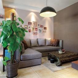 混搭家装公寓客厅设计