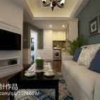 欧式装修风格样板间客厅设计图