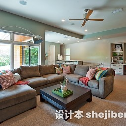 最新客厅拐角沙发装饰图片