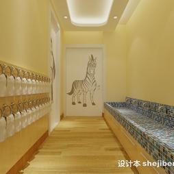 幼儿园走廊环境布置效果图库