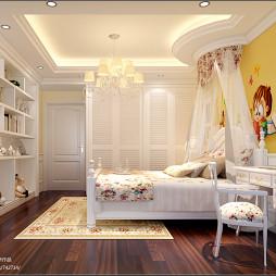 中式儿童房房间摆设装修效果图片