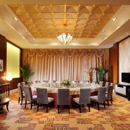 现代风格酒店包厢装修设计