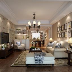 沙发背景墙家庭装饰画装修效果图