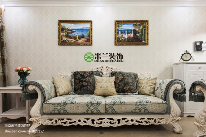 欧式客厅沙发装修效果图