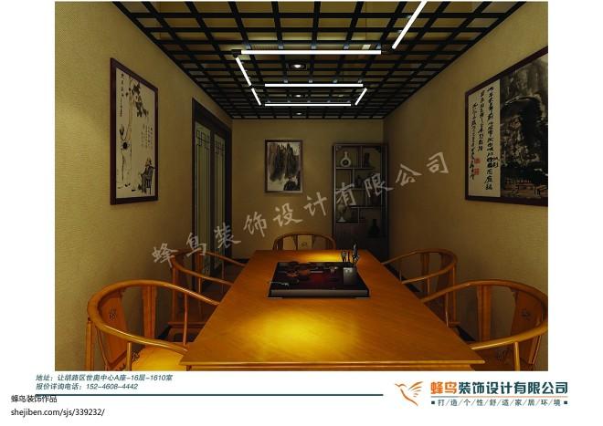 古玩城中式茶室_1396641